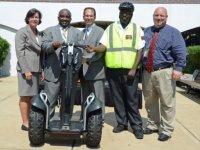 Западный кампус округа Монтгомери запускает программу Segway-патрулирования для обеспечения общественной безопасности