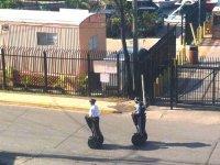Полиция Сент-Джона: внедорожники или сегвей?